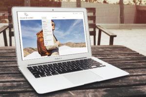 Mockup website Atelier de L'Arnee