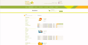The Bio products company website