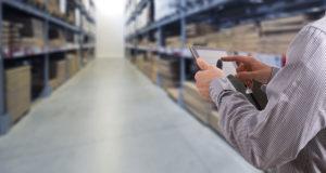 Warehousing met tablet