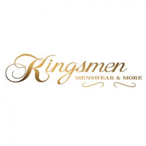 Kingsmen logo - Menswear & more