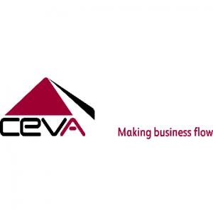 CEVA logo - Making Business Flow