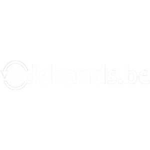 2dehands.be logo wit