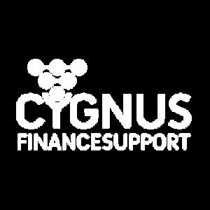Cygnus Finance Support logo wit