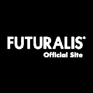 Futuralis logo wit