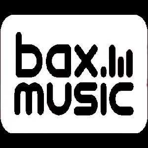 Bax Music Logo wit