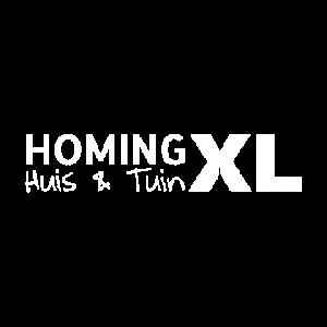 HomingXL logo wit