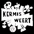 Kermist Weert logo wit