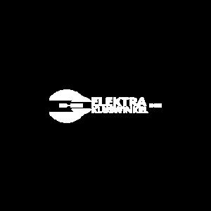 Elektra kluswinkel logo wit