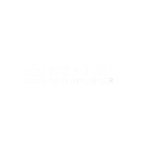 Koppen Tentenverhuur logo wit