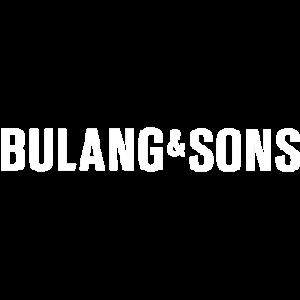 Bulang & Sons logo wit