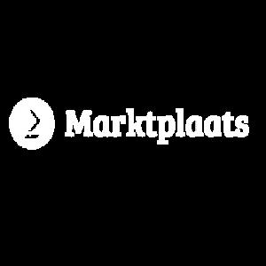 Marktplaats logo wit