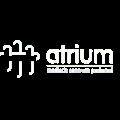 Atrium logo wit