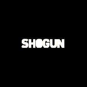 Shogun logo wit